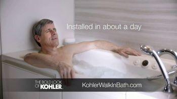 Kohler Walk-In Bath TV Spot, 'Calling Kohler: Free Turkish Bath Linens' - Thumbnail 7
