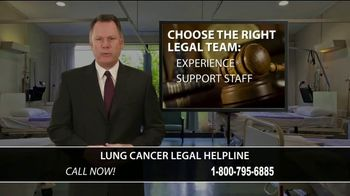 SWMW Law TV Spot, 'Lung Cancer Legal Helpline'
