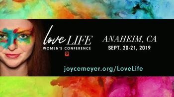 Joyce Meyer Ministries 2019 Love Life Women's Conference TV Spot, 'Unleash the Warrior Inside'