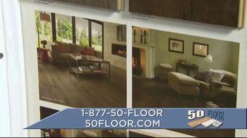 50 Floor TV Spot, 'September Flooring' - Thumbnail 5