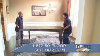 50 Floor TV Spot, 'September Flooring' - Thumbnail 8