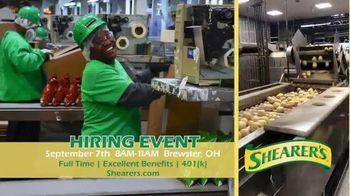Shearer's Foods Hiring Event TV Spot, 'Full Time Opportunities'