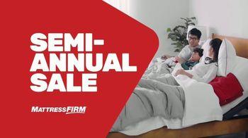 Mattress Firm Semi-Annual Sale TV Spot, 'Serta Memory Foam Queen Mattress'