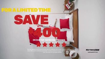 Mattress Firm Semi-Annual Sale TV Spot, 'Serta Memory Foam Queen Mattress' - Thumbnail 4