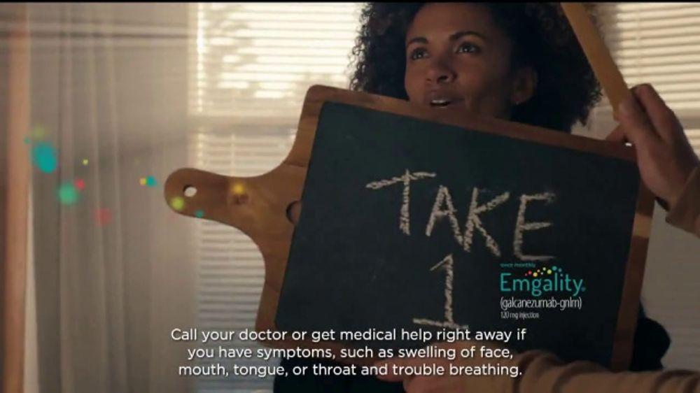 Emgality TV Commercial, 'Movie Adventure'