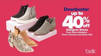 Belk Fall Fashion Sale TV Spot, 'Designer Shoes and Handbags' - Thumbnail 3