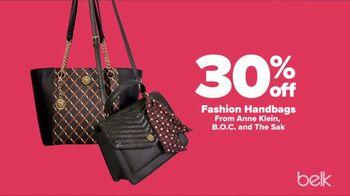 Belk Fall Fashion Sale TV Spot, 'Designer Shoes and Handbags' - Thumbnail 4
