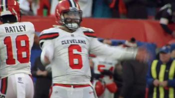 Amazon Web Services Next Gen Stats TV Spot, 'Is There Anything Baker Mayfield Can't Do?' - Thumbnail 6