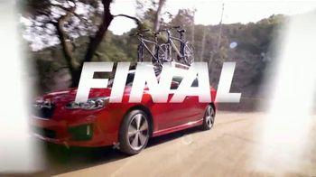 Subaru Final Chance Clearance TV Spot, 'Don't Miss: Impreza' [T2] - Thumbnail 2