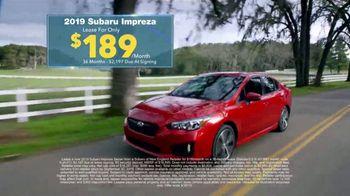 Subaru Final Chance Clearance TV Spot, 'Don't Miss: Impreza' [T2] - Thumbnail 6