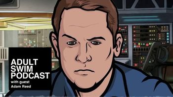 Adult Swim Podcast TV Spot, 'With Guest Adam Reed'