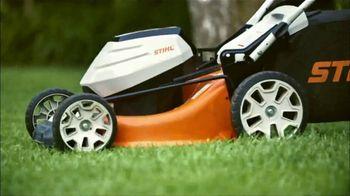 STIHL TV Spot, 'Real Stihl: Battery Power + Blower'