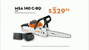 STIHL TV Spot, 'Real STIHL: Battery Power Blower or Chainsaw + Second Battery' - Thumbnail 7