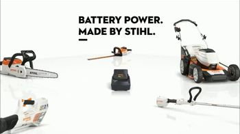 STIHL TV Spot, 'Real STIHL: Battery Power Blower or Chainsaw + Second Battery' - Thumbnail 9