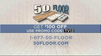 50 Floor TV Spot, 'July Flooring' - Thumbnail 10