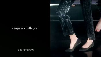 Rothy's TV Spot, 'Keeps Up With You'