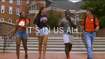 Clemson University TV Spot, 'Hard Work'
