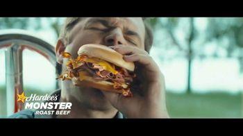 Hardee's Monster Roast Beef TV Spot, 'Triple Threat'
