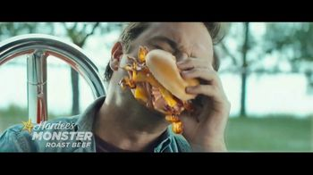 Hardee's Monster Roast Beef TV Spot, 'Triple Threat'