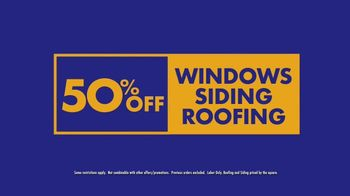 1-800-HANSONS End of Summer Sale TV Spot, 'Windows, Siding and Roofing'