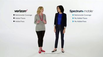 Spectrum Mobile TV Spot, 'No Added Fees and Flexible Plans' - Thumbnail 2