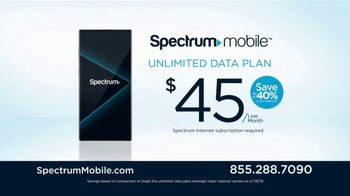 Spectrum Mobile TV Spot, 'No Added Fees and Flexible Plans' - Thumbnail 3