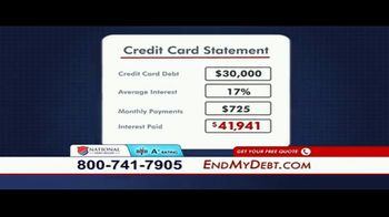 National Debt Relief TV Spot, 'Resolved' - Thumbnail 2