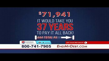 National Debt Relief TV Spot, 'Resolved'