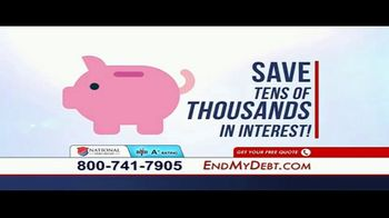 National Debt Relief TV Spot, 'Resolved' - Thumbnail 5