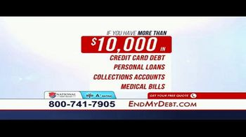 National Debt Relief TV Spot, 'Resolved' - Thumbnail 6