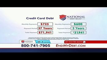 National Debt Relief TV Spot, 'Resolved' - Thumbnail 9