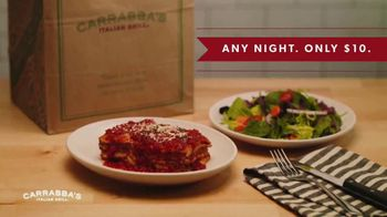Carrabba's Grill $10 Take Home Meal TV Spot, 'Unforgettable Flavors' - Thumbnail 7