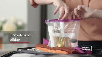 Hefty Slider Bags TV Spot, 'Brand Power: Stand, Fill & Store' - Thumbnail 5