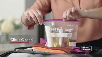 Hefty Slider Bags TV Spot, 'Brand Power: Stand, Fill & Store' - Thumbnail 6