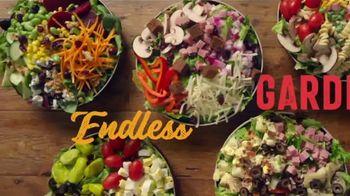 Ruby Tuesday Endless Garden Bar TV Spot, 'All Good Things'