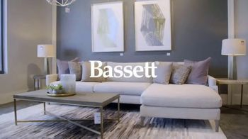 Bassett Anniversary Sale TV Spot, 'Custom Furniture for You: 30 Percent Off' - Thumbnail 1