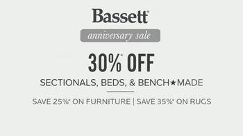 Bassett Anniversary Sale TV Spot, 'Custom Furniture for You: 30 Percent Off' - Thumbnail 9