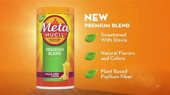 Metamucil Premium Blend TV Spot, 'Sweetened With Stevia' - Thumbnail 4