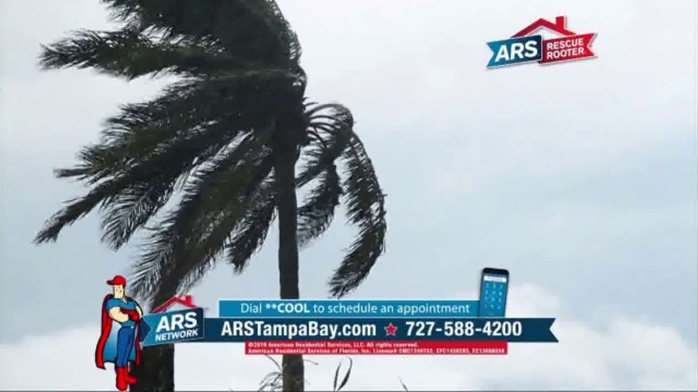 ARS Rescue Rooter $19 A/C System Tune Up TV Commercial, 'Severe Weather'