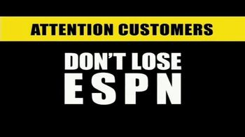 The Walt Disney Company TV Spot, 'ESPN: Attention Customers'