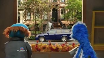 Farmers Insurance TV Spot, \'Sesame Street: Not-So-Handy Monster\' Featuring J.K. Simmons
