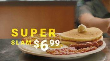 Denny's Super Slam TV Spot, 'Back With Pumpkin Pancakes! $6.99' - Thumbnail 9