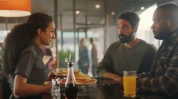 Denny's Super Slam TV Spot, 'Back With Pumpkin Pancakes! $6.99'
