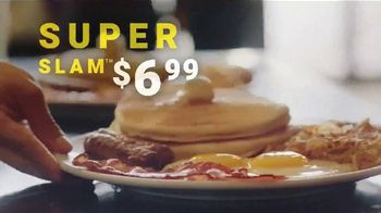 Denny's Super Slam TV Spot, 'Back With Pumpkin Pancakes! $6.99' - 28 commercial airings