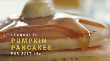 Denny's Super Slam TV Spot, 'Back With Pumpkin Pancakes! $6.99' - Thumbnail 7