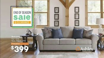 Ashley HomeStore End of Season Sale & Clearance TV Spot, 'Beds, Sofas and Dining Tables' Song by Midnight Riot - Thumbnail 2