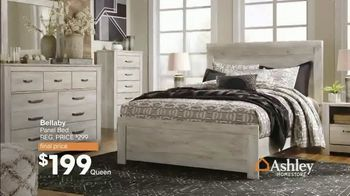 Ashley HomeStore End of Season Sale & Clearance TV Spot, 'Beds, Sofas and Dining Tables' Song by Midnight Riot - Thumbnail 3