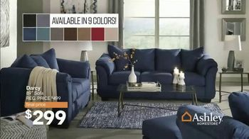 Ashley HomeStore End of Season Sale & Clearance TV Spot, 'Beds, Sofas and Dining Tables' Song by Midnight Riot - Thumbnail 4