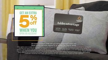 Ashley HomeStore End of Season Sale & Clearance TV Spot, 'Beds, Sofas and Dining Tables' Song by Midnight Riot - Thumbnail 7