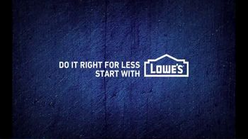 Lowe's ProServices TV Spot, 'You're a Pro' - Thumbnail 10